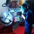 Endress+Hauser Flow China, Suzhou, man welding measuring tube