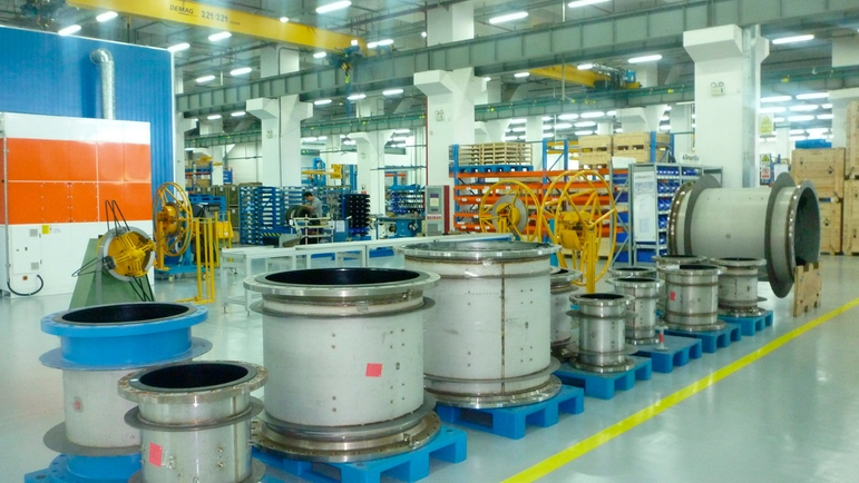 Endress+Hauser Flow China, Suzhou, measuring tubes